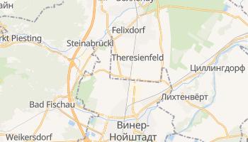 Винер-Нойштадт - детальная карта