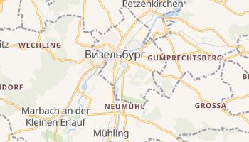 Визельбург - детальная карта