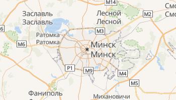 Минск - детальная карта