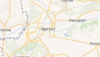 Арсхот - детальная карта