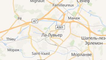 Ла-Лувьер - детальная карта