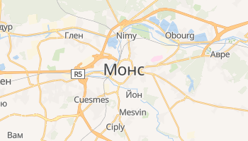 Монс - детальная карта