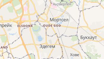 Мортсел - детальная карта