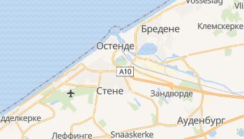 Остенде - детальная карта