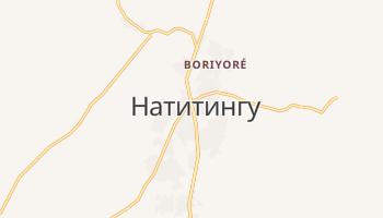 Натитингу - детальная карта
