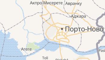Порто-Ново - детальная карта