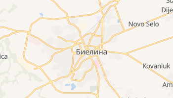 Биелина - детальная карта