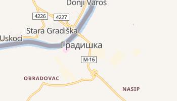 Босанска Градишка - детальная карта