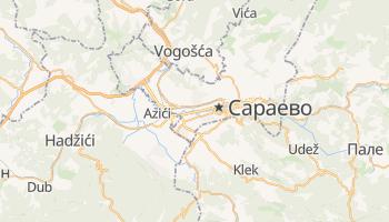 Сараево - детальная карта