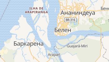 Белен - детальная карта