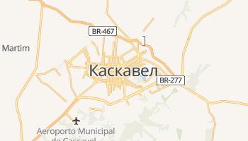 Каскавел - детальная карта