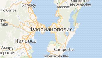 Флорианополис - детальная карта