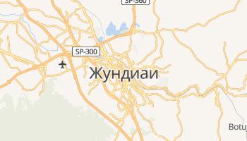 Жундиаи - детальная карта