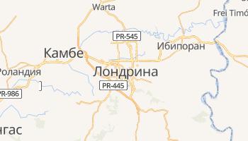 Лондрина - детальная карта