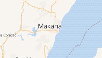 Макапа - детальная карта