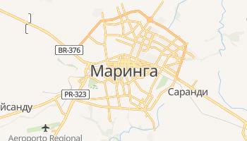 Маринга - детальная карта
