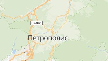 Петрополис - детальная карта