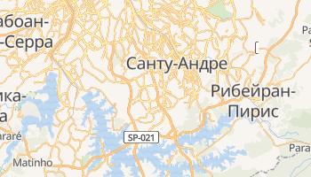 Сан-Бернардо-ду-Кампу - детальная карта