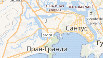 Сан-Висенти - детальная карта