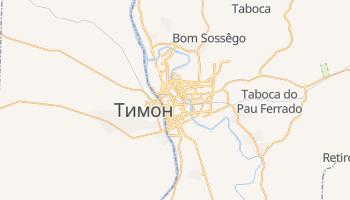 Терезина - детальная карта
