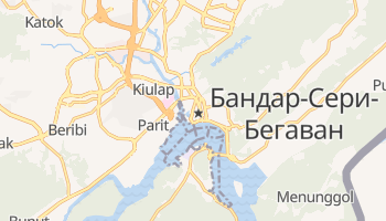 Бандар-Сери-Бегаван - детальная карта
