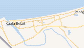 Куала-Белайт - детальная карта