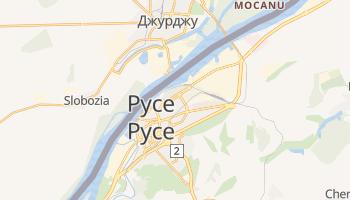 Русе - детальная карта