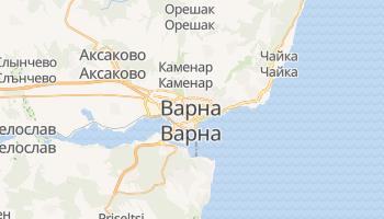 Варна - детальная карта