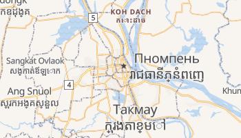 Пномпень - детальная карта