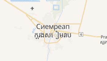 Сием-Реап - детальная карта