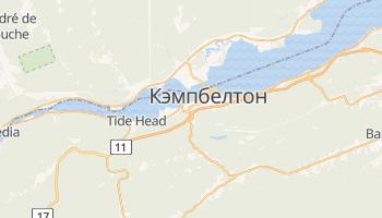 Кэмпбелтон - детальная карта
