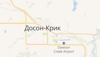 Досон-Крик - детальная карта