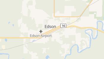 Эдсон - детальная карта