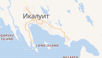 Икалуит - детальная карта