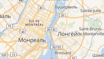 Лонгёй - детальная карта