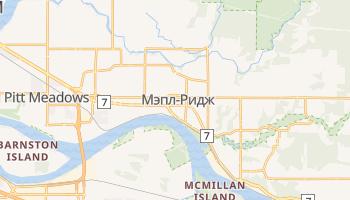 Мэпл-Ридж - детальная карта