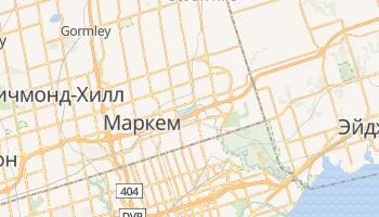 Маркем - детальная карта