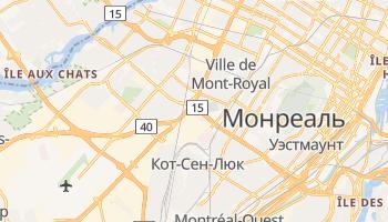 Святого Лаврентия - детальная карта