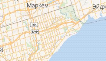 Скарборо - детальная карта
