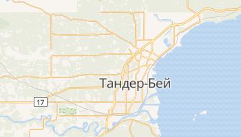 Тандер-Бей - детальная карта
