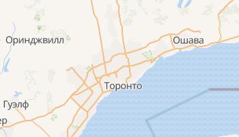 Торонто - детальная карта