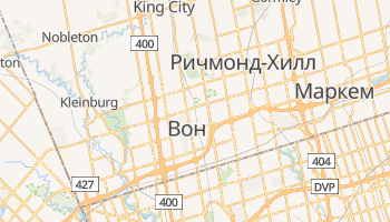 Вон - детальная карта