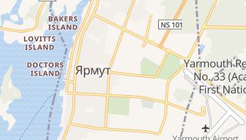 Ярмут - детальная карта