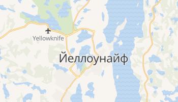 Йеллоунайф - детальная карта