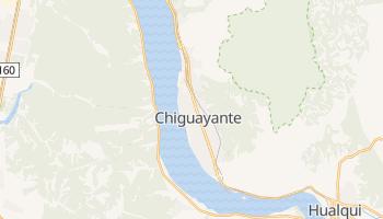 Чигуайанте - детальная карта