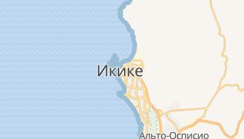 Икике - детальная карта
