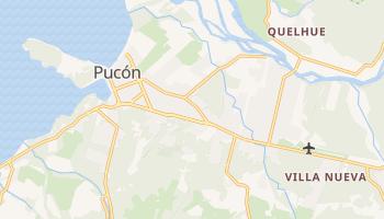 Пукон - детальная карта
