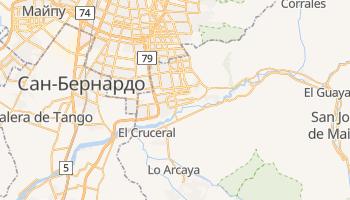 Пуэнте-Альто - детальная карта