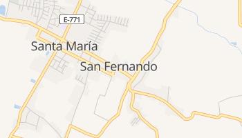 Сан-Фернандо - детальная карта
