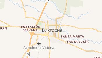 Виктория - детальная карта